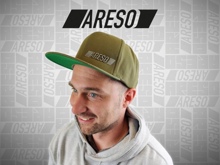 """ARESO Snapback """"GRÜN"""""""