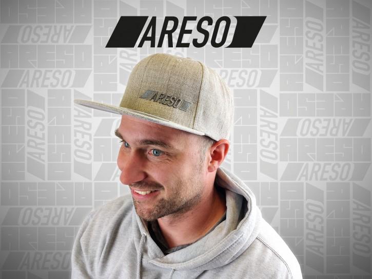"ARESO Snapback ""HELLGRAU"""
