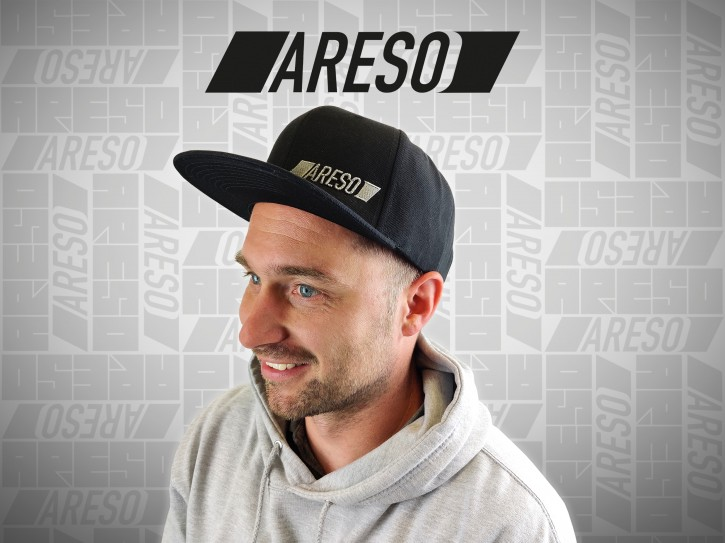 "ARESO Snapback ""SCHWARZ"""